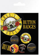 Guns N Roses (Logo) Badge Pack