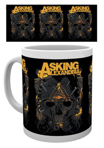 Asking Alexandria (Nails) Mug Preview