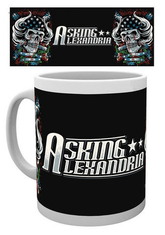 Asking Alexandria (Logo Skull) Mug Preview
