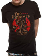 Foo Fighters (Cobra) T-shirt Pre-order Released W/C 14th September