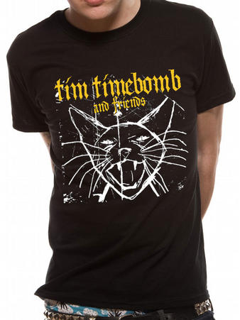 Tim Timebomb (Cat) T-shirt Preview