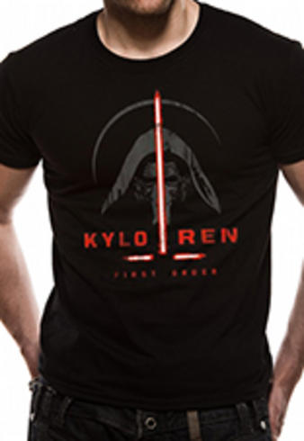 Star Wars VII (Kylo Ren First Order) T-shirt Preview