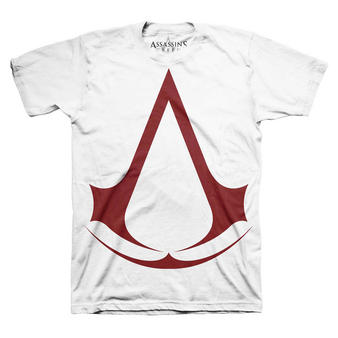 Assassin's Creed (Classic Logo White) T-shirt Preview