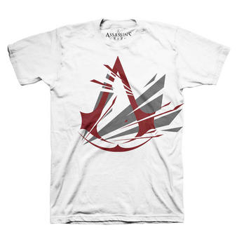 Assassin's Creed (Frac Logo White) T-shirt Preview