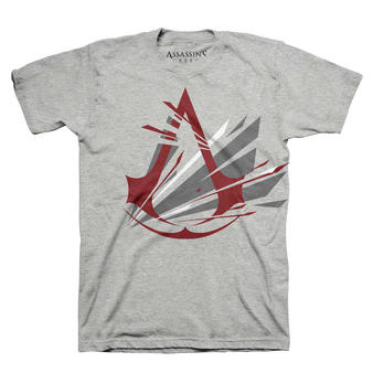 Assassin's Creed (Frac Logo Grey) T-shirt Preview