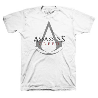 Assassin's Creed (Logo White) T-shirt Preview