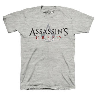 Assassin's Creed (Logo Grey) T-shirt Preview