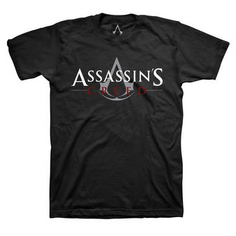 Assassin's Creed (Logo Black) T-shirt Preview
