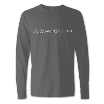 Assassin's Creed (Logo Grey) Long Sleeved T-shirt Preview