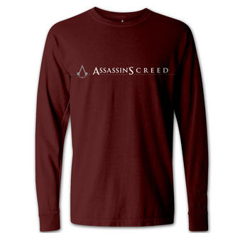 Assassin's Creed (Logo Red) Long Sleeved T-shirt Preview