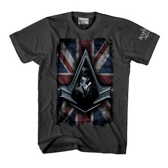 Assassin's Creed Syndicate (Flag Grey) T-shirt Preview