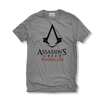 Assassin's Creed Syndicate (Logo Grey) T-shirt Preview