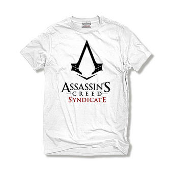 Assassin's Creed Syndicate (Logo White) T-shirt Preview