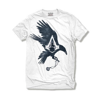 Assassin's Creed Syndicate (Raven White) T-shirt Preview