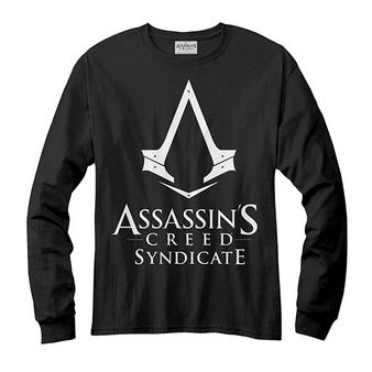 Assassin's Creed (Logo Black) Long Sleeved T-shirt Preview