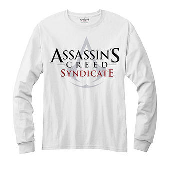 Assassin's Creed (Logo White) Long Sleeved T-shirt Preview