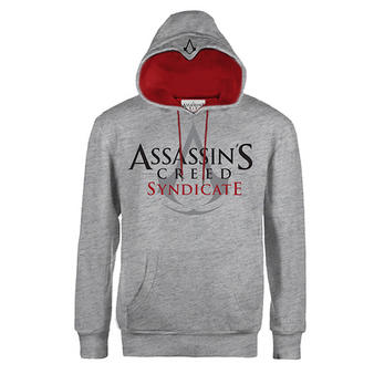 Assassin's Creed (Large Logo Grey) Hoodie Preview
