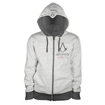 Assassin's Creed (Chest Logo Grey) Hoodie Preview
