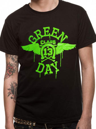 Green Day (Neon Black) T-shirt Preview