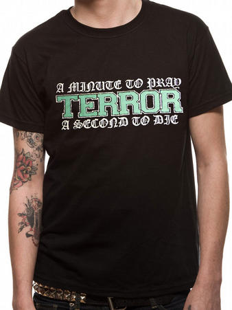 Terror (A Minute To Pray) T-shirt Preview