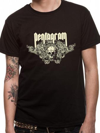 Pentagram (Skull) T-Shirt Preview