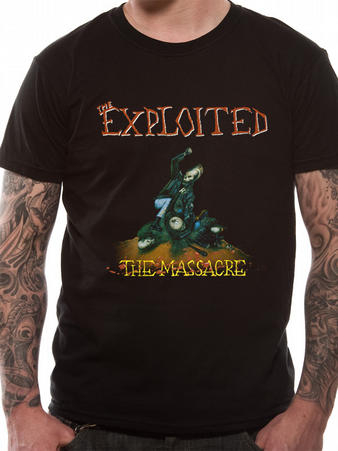 The Exploited (The Massacre) T-Shirt Preview