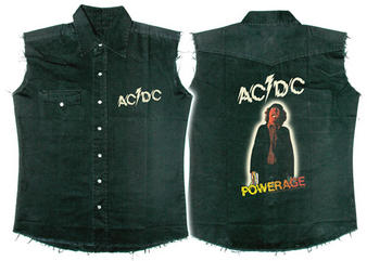 AC/DC (Powerage) Workshirt Preview