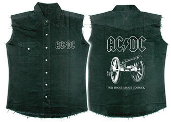 AC/DC (For Those About To Rock) Workshirt Preview