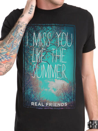 Real Friends (Summer) T-shirt Preview