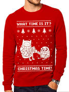 Adventure Time (Christmas Time) Jumper