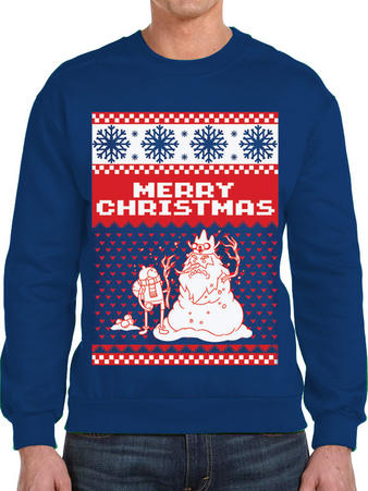 Adventure Time (Merry Christmas) Jumper Preview