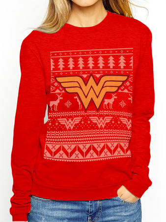 Wonder Woman (Fair Isle) Jumper Preview