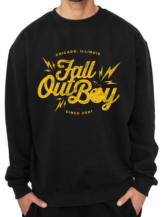 Fall Out Boy (Bomb) Crew Neck Preview
