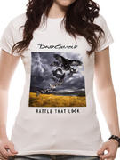 David Gilmour (Album Dates) Fitted T-Shirt