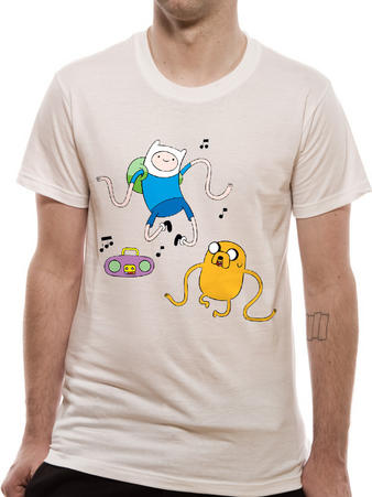 Adventure Time (Radio) T-shirt Preview