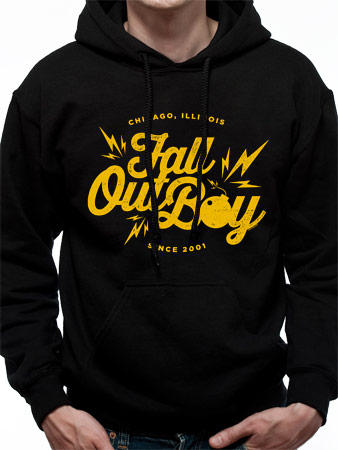 Fall Out Boy (Bomb) Hoodie Preview