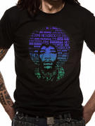 Jimi Hendrix (Afro Speech) T-shirt