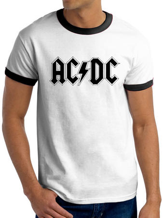 AC/DC (Logo Ringer) T-shirt Preview