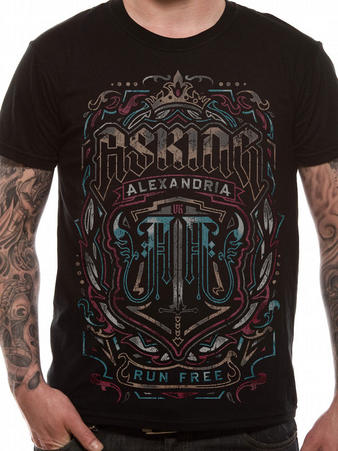 Asking Alexandria  (Legacy) T-shirt Preview