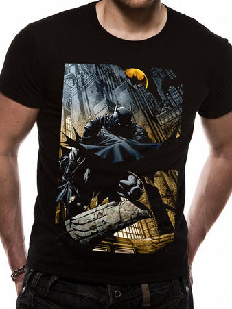 Batman (City Scape) T-shirt Preview