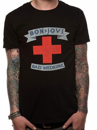 Bon Jovi (Bad Medicine) T-shirt Preview