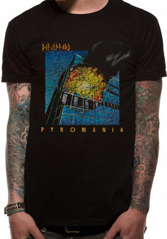Def Leppard (Pyromania) T-shirt Preview