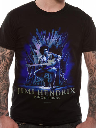 Jimi Hendrix (King Of Kings) T-shirt Preview