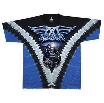 Aerosmith (Guitar) T-shirt Preview