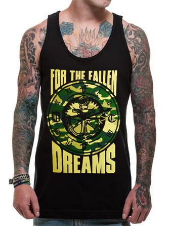 For The Fallen Dreams (Anchor Clock) Vest Preview