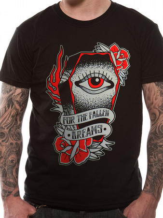 For The Fallen Dreams (Eye) T-shirt Preview