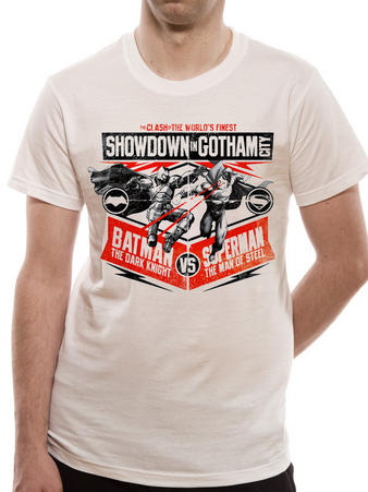 Batman Vs Superman (Showdown In Gotham) T-shirt Preview