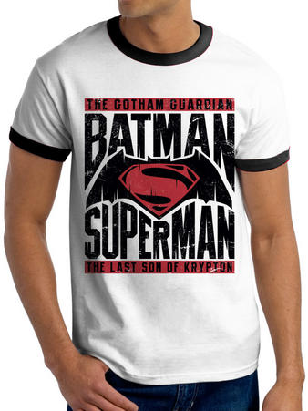 Batman Vs Superman (Text & Logo) T-shirt Preview