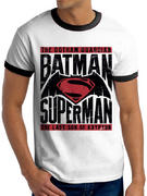 Batman Vs Superman (Text & Logo) T-shirt