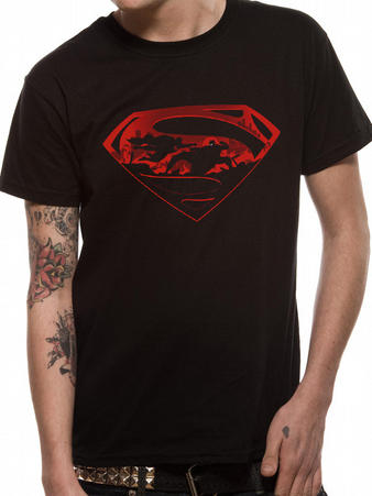 Batman Vs Superman (Superman Logo) T-shirt Preview
